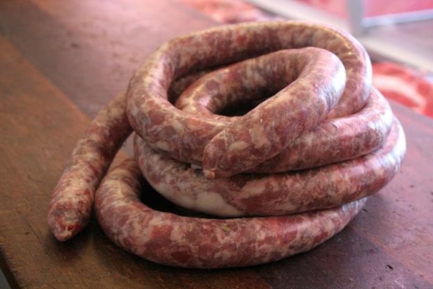 Macelleria Siracusa: salsiccia di suino