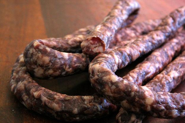 Macelleria Siracusa: salsiccia secca