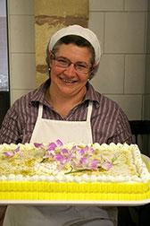 Paola Calafiore in Italia: responsabile settore dolciario