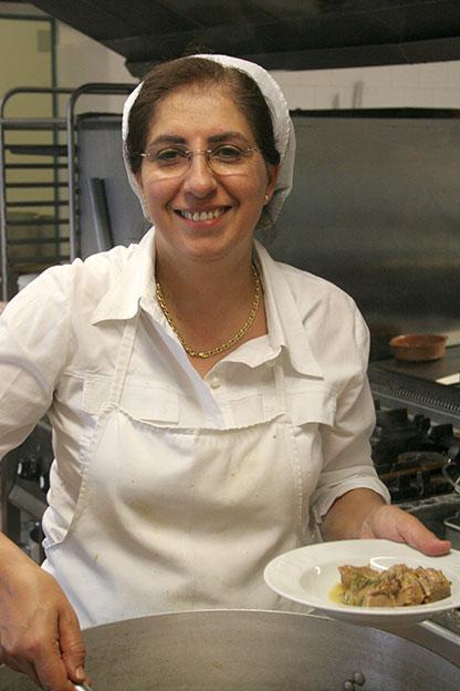 Agriturismo a Siracusa: Tina Spanò si occupa di ricerca e sviluppo nella cucina del nostro ristorante