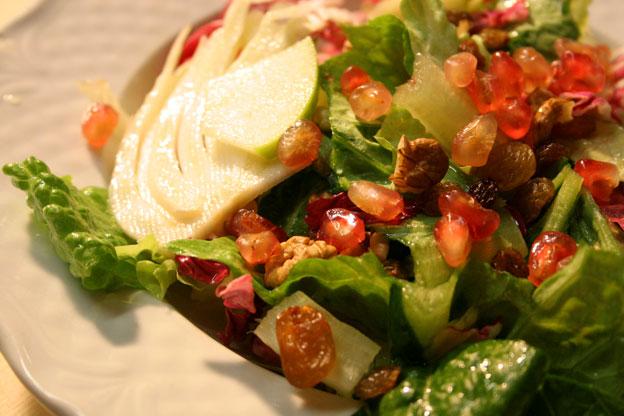 Ristorante Siracusa: insalata al melograno