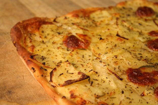 Ristorante Siracusa: pizza con le patate