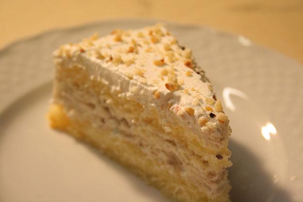 Ristorante Siracusa: torta di ricotta fresca